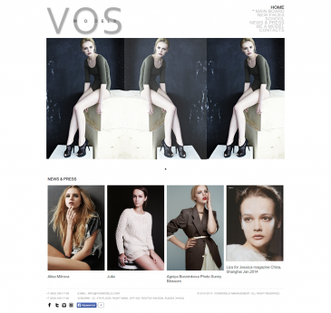 Model agency VOSMODELS